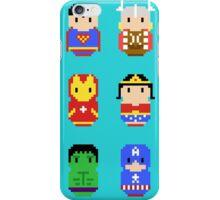 Superheroes - 8 bit iPhone Case/Skin