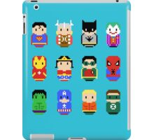 Superheroes - 8 bit iPad Case/Skin