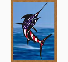 Red White and Blue Marlin T-Shirt