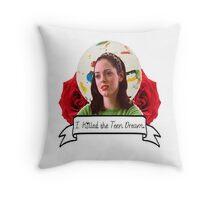 Rose McGowan (Jawbreaker) Throw Pillow