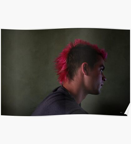 He dyes his hair Poster