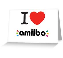 I <3 Amiibo  Greeting Card