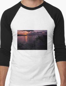Sunrise from Mantazas Pass, As Is Men's Baseball ¾ T-Shirt