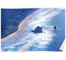 Above Cannon Beach Poster