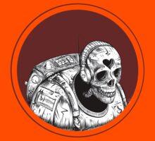 Skull Space Music Game - VER 1 Kids Tee
