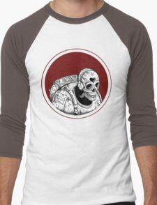 Skull Space Music Game - VER 1 Men's Baseball ¾ T-Shirt