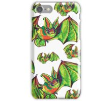 Colorful Big Eared Bat iPhone Case/Skin