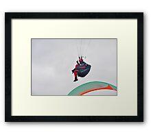 Armchair ride Framed Print