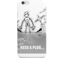 My Robot Is Leaving Home iPhone Case/Skin