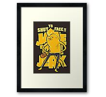 Jake the Jerk Framed Print
