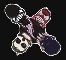 "Finn Balor (Prince Devitt) ""4 faces"" T - Shirt by DannyDouglas96"