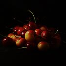 Rainier Cherries by Barbara Morrison