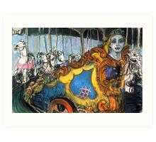 Peace Chariot #3 Art Print