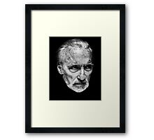 Sir Christopher Lee Framed Print