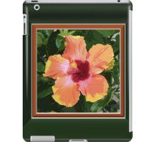 Multi Colored Tropical Hibiscus Artwork iPad Case/Skin