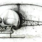 Skullcopter by Kaitlin Beckett