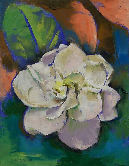 Gardenia Flower by Michael Creese