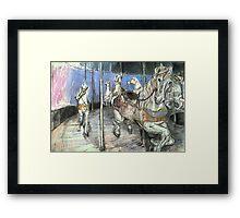 Merry-go-round #1 Framed Print