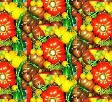 Many Tomatoes by Sharon Thorp