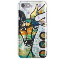 Stepping into Presence: Inner Power Painting iPhone Case/Skin
