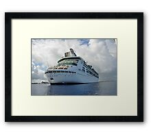 Grandeur of the Seas Framed Print