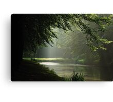 A little corner in the park Canvas Print