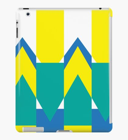 Yellow Triangle Fantasy iPad Case/Skin