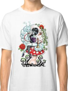 Alice in Zombieland - Schmokin' Caterpillar (white) Classic T-Shirt