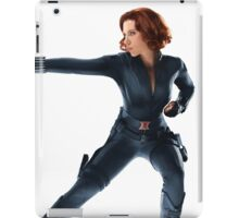 Black Widow (Scarlett Johansson) - Poster iPad Case/Skin