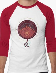 Red Lotus Men's Baseball ¾ T-Shirt