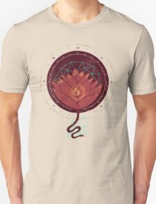 Red Lotus Unisex T-Shirt