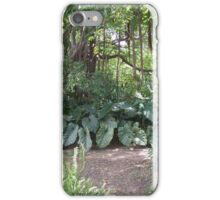 St Kitt jungle iPhone Case/Skin