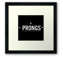 Prongs 1 Framed Print