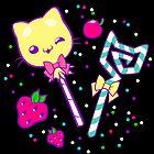 Kawaii Kitty Sprinkles by Shonuff  Studio