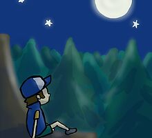 Contemplating Dipper by goingmango