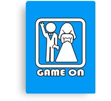 GAME ON 3 Canvas Print