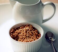 Apple crumble by Sangeeta