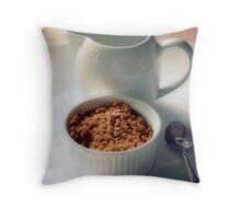 Apple crumble Throw Pillow