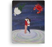 Capricorn and Cancer Canvas Print