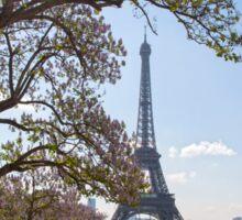 Spring In Paris Sticker