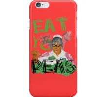Give PEAS a chance! iPhone Case/Skin