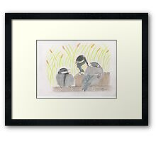 """chatter! chirp! chirp""   for JD Framed Print"