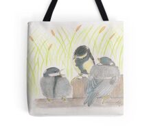 """""""chatter! chirp! chirp""""   for JD Tote Bag"""