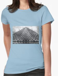 The Glass Pyramid Womens Fitted T-Shirt