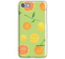 Citrus Pattern iPhone Case/Skin