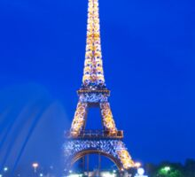Eiffel Sparkle Sticker