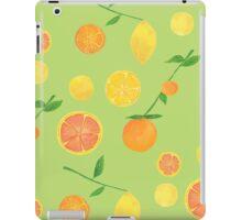 Citrus Pattern iPad Case/Skin