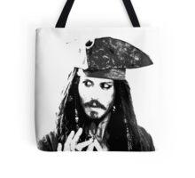 Awesome Johnny Depp - Stencil - Pirates Caribbean - Street art Graffiti Popart Andy warhol Tote Bag