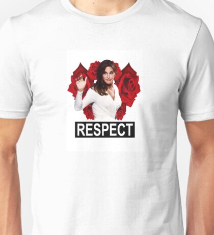 Caitlyn Jenner (Respect) Unisex T-Shirt