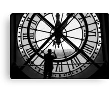 Keeping Time Canvas Print